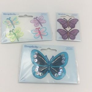 Simplicity Butterflies Bundle Patch Set